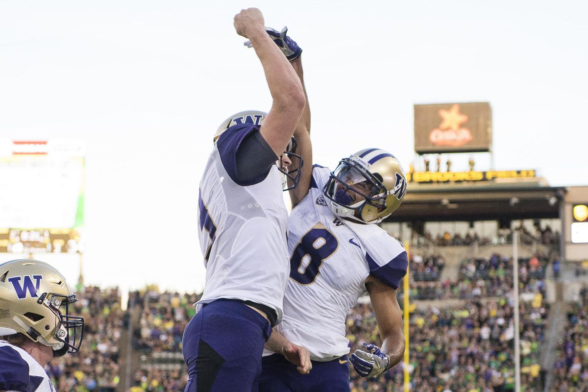 Dante Pettis keeps on scoring. Can he do it again against Cal?