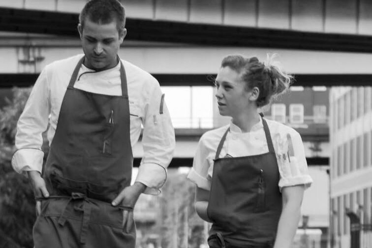 The chefs behind Nomad.PDX, Ryan Fox and Ali Matteis