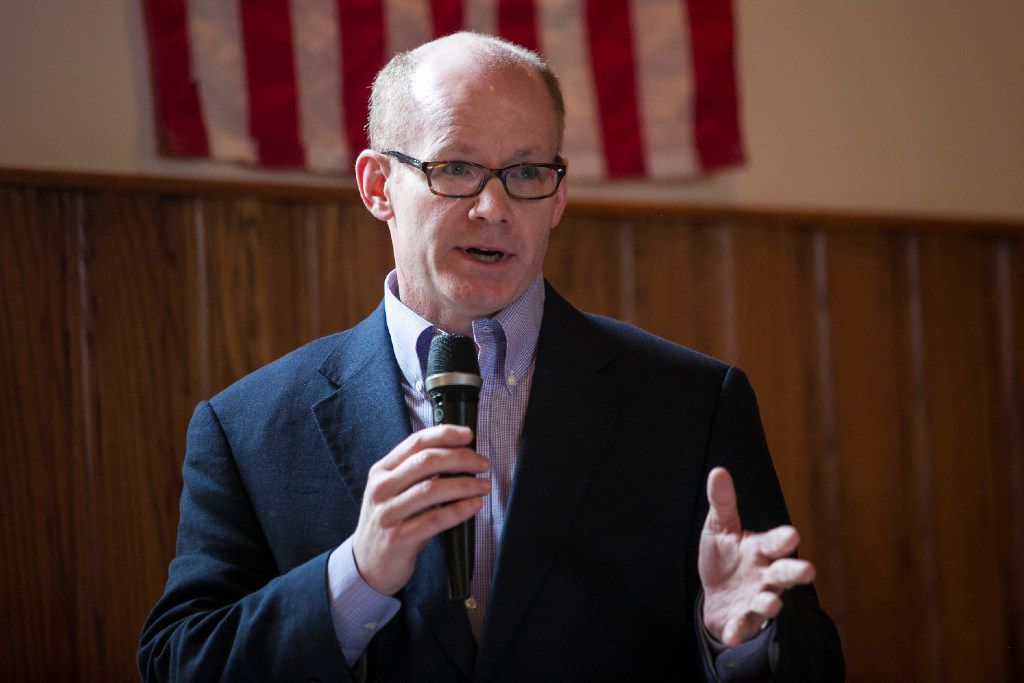 State Senate President Don Harmon in 2017.