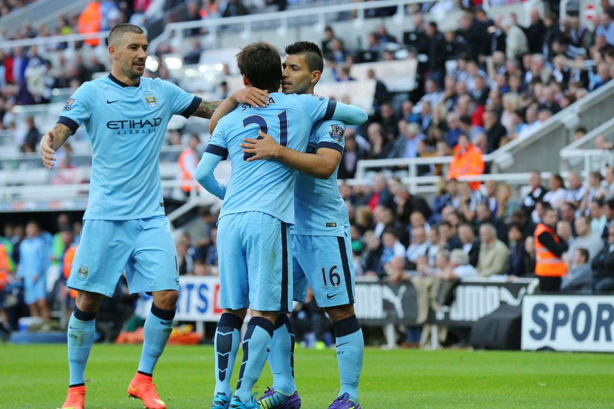 SOCCER : Barclays Premier League - Newcastle United v Manchester City