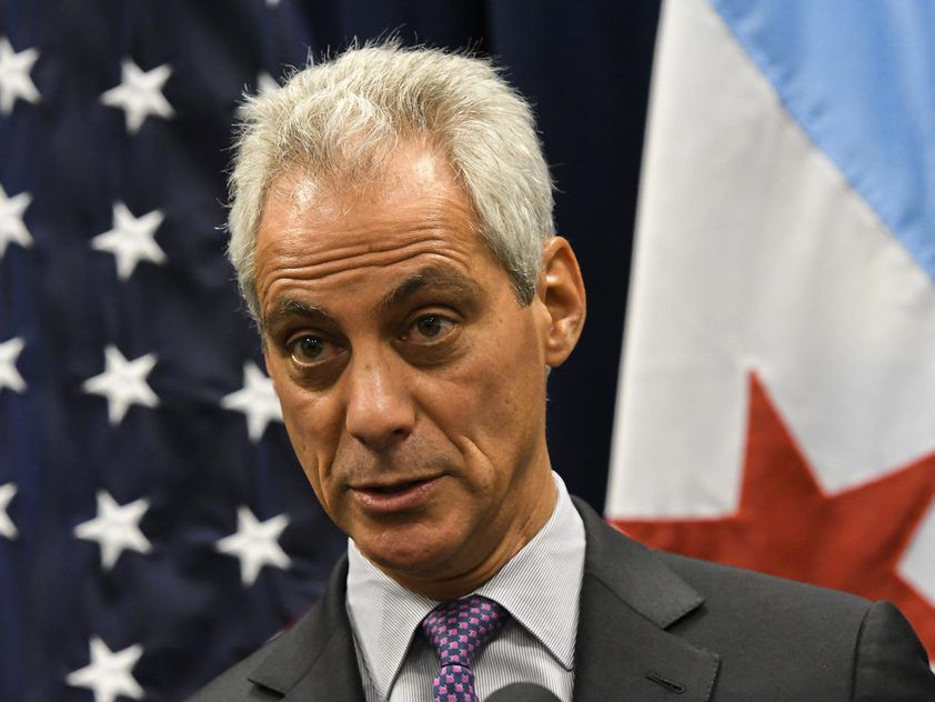 Chicago Mayor Rahm Emanuel speaks during a press conference last year. | AP File Photo/Matt Marton