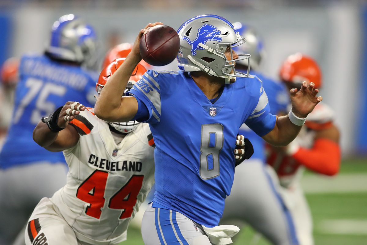 Cleveland Browns vDetroit Lions