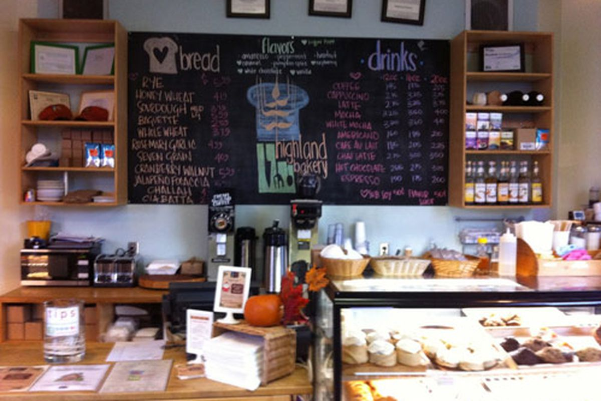 "Highland Bakery. Photo courtesy of <a href=""http://newlyeverything.com/2011/12/07/highland-bakery-two-thumbs-up/"">Newly Everything</a>."