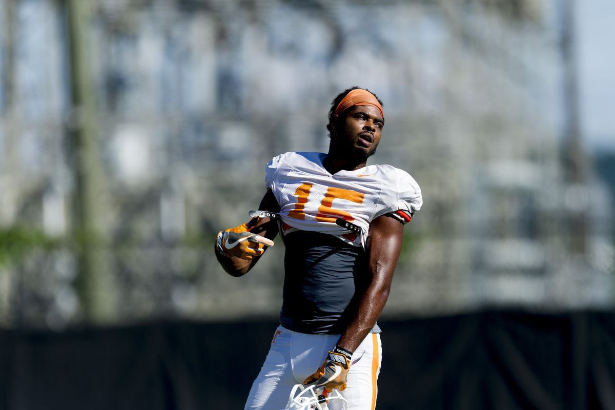 NCAA Football: Tennessee Volunteers Practice
