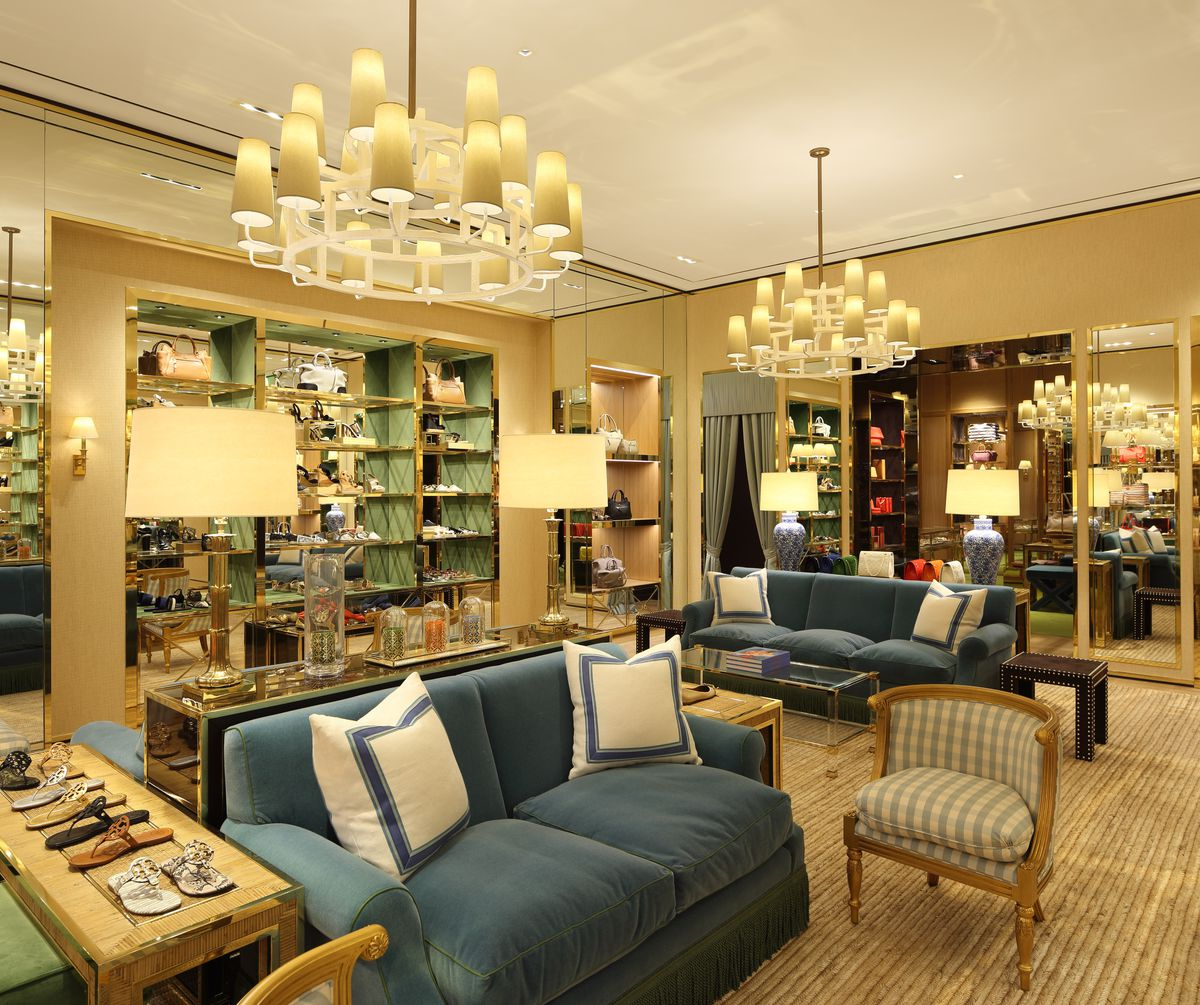 The Tory Burch Accessories Boutique At Aventura Mall Is Perfect