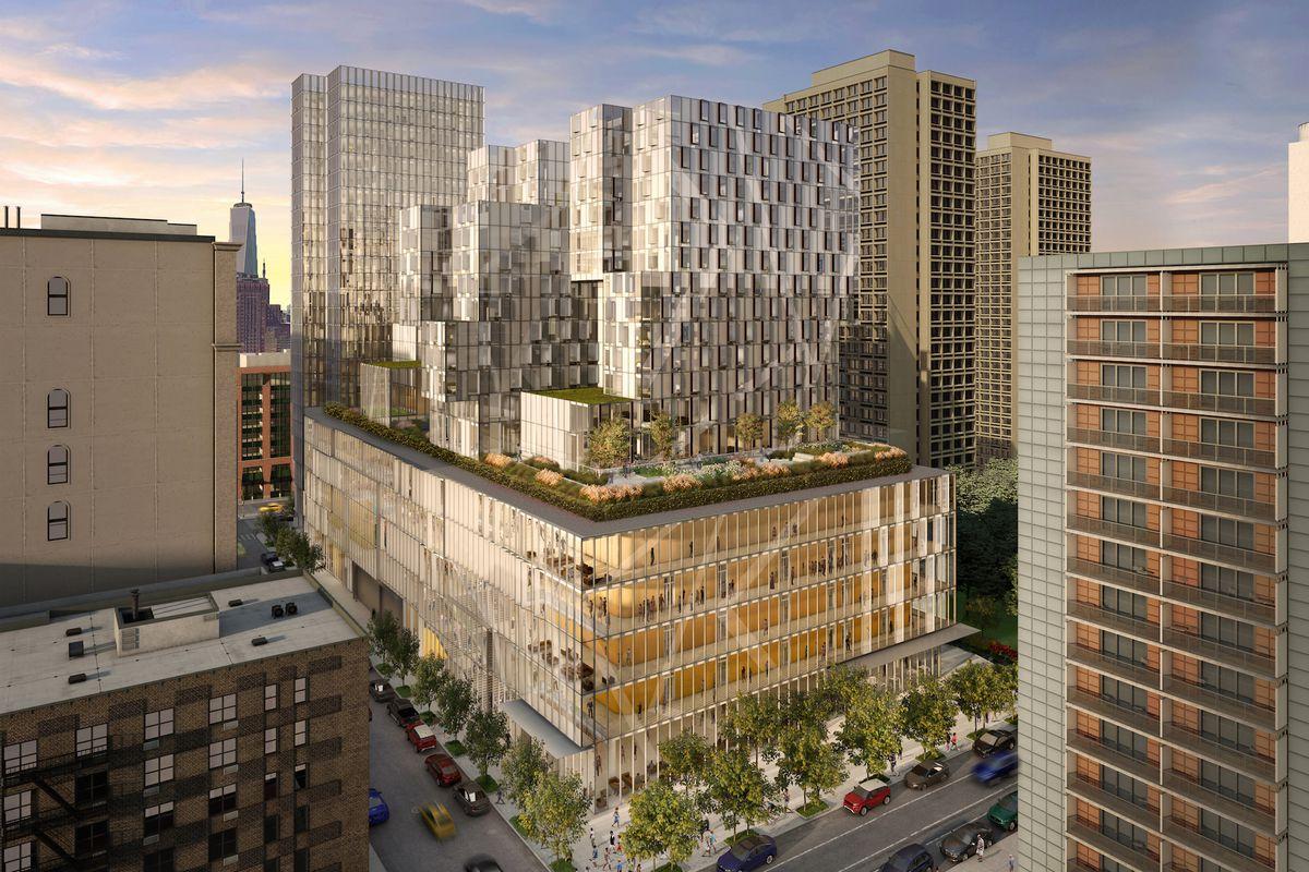 NYU unveils massive Mercer Street student hub
