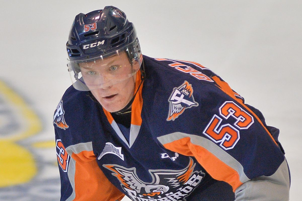 28b9e98dd 2018 NHL Draft prospect profile  Ty Dellandrea is going to be a steal