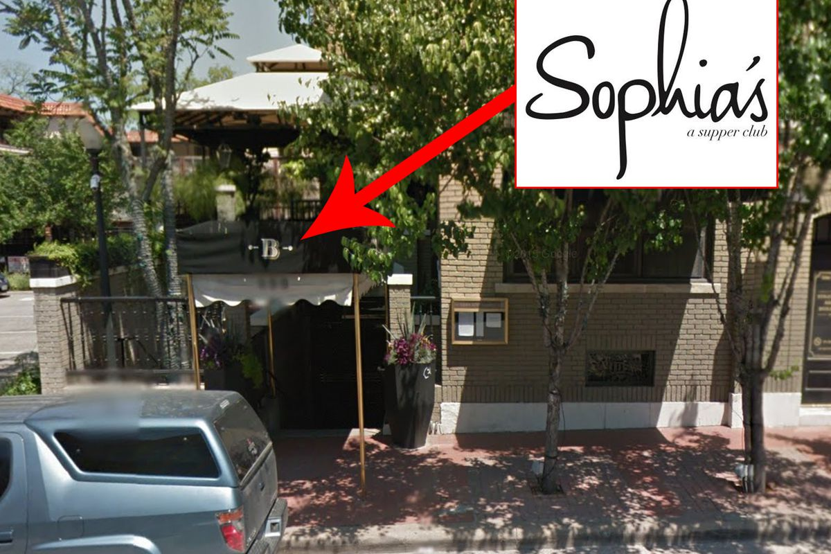 Sophia's new home