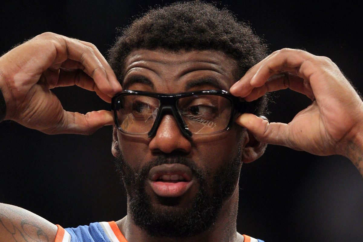 """""""What the hell is going on out there?"""" - Amar'e Stoudemire"""