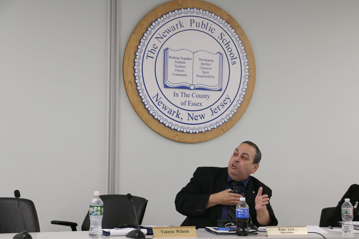 Newark Superintendent Roger León wants to reclaim building space as he seeks to expand the district.