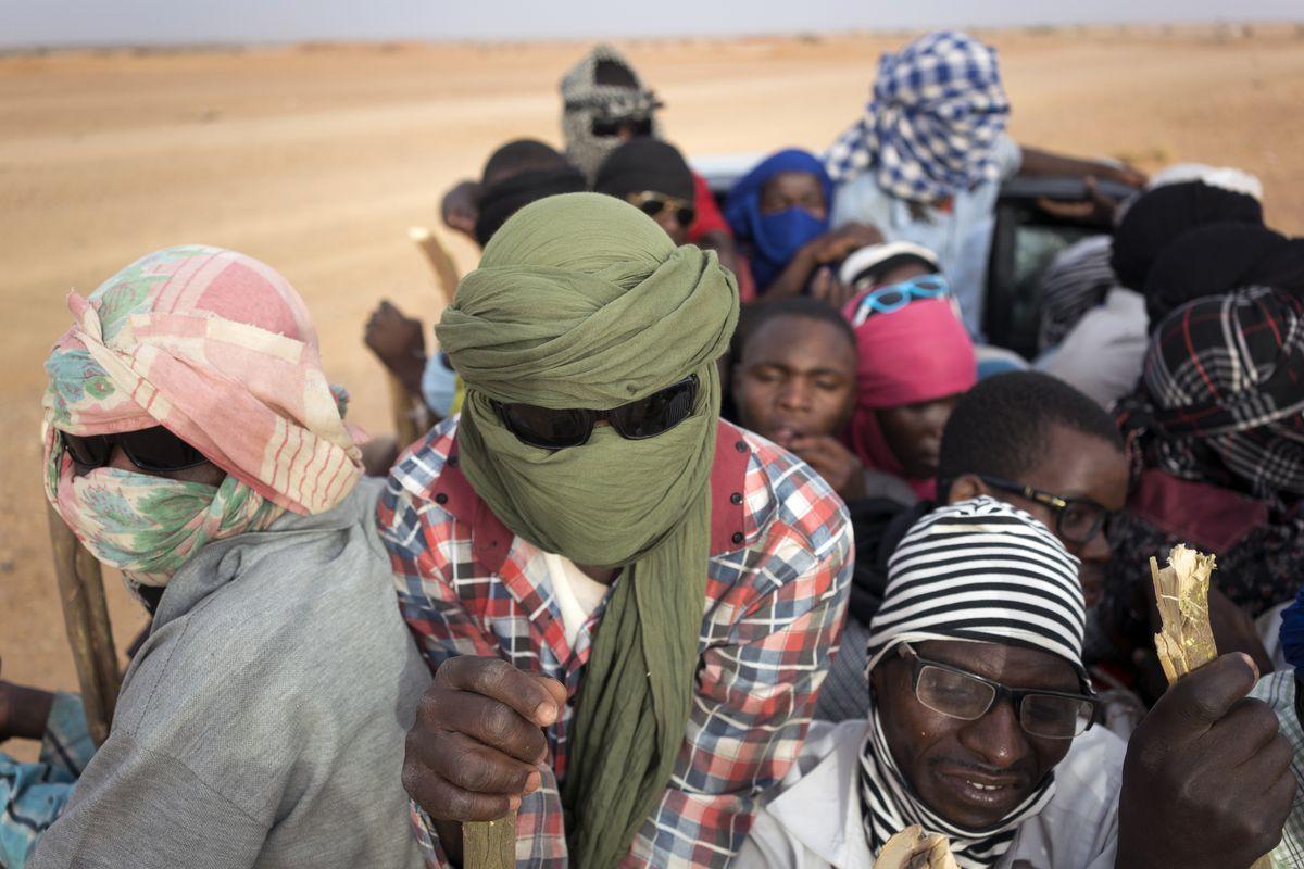Nigeriens and sub-Saharan migrants head towards Libya