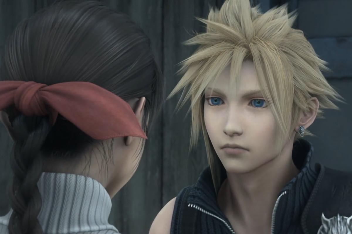Cloud Strife in Final Fantasy VII: Advent Children