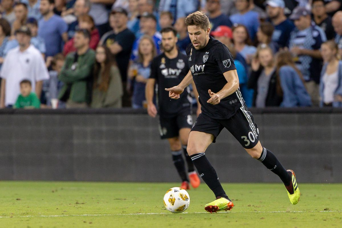 """reputable site fa982 c5ce8 Stylish Fontas ready to """"go for it"""" with Sporting KC - The ..."""
