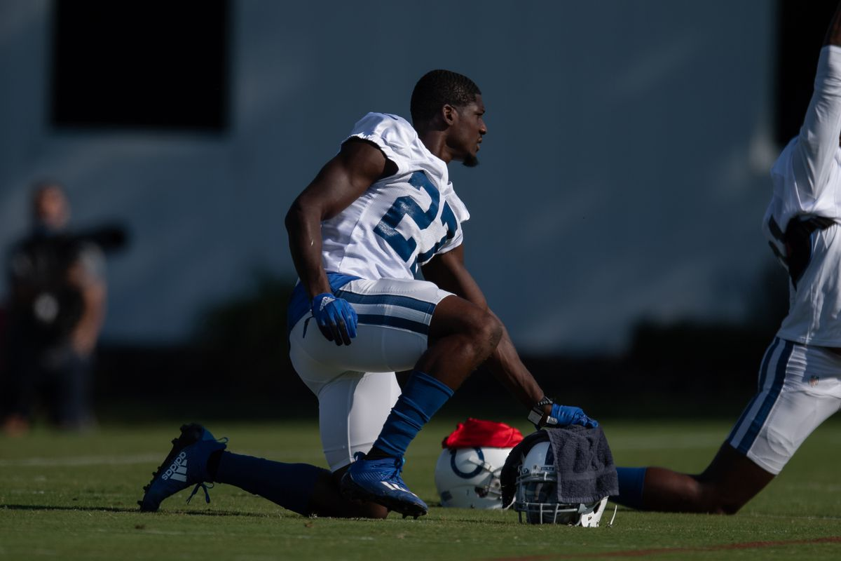 NFL: AUG 23 Colts Training Camp