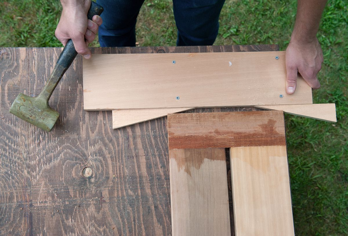 Man Clamps Bench Assembly