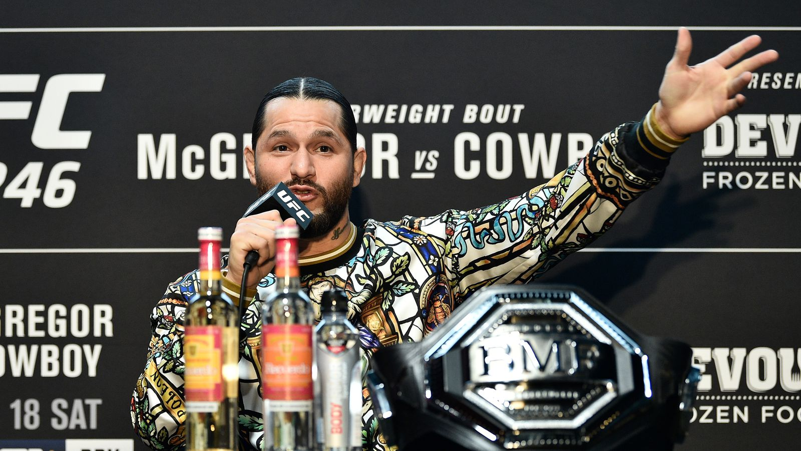 Jorge Masvidal forced to apologize to Stephen A. Smith on behalf of MMA community