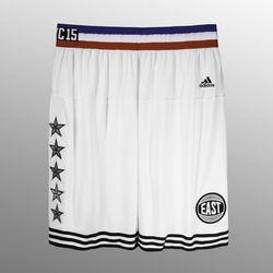The shorts for the East team.