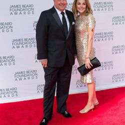 Andrew Zimmern and his wife Rishia