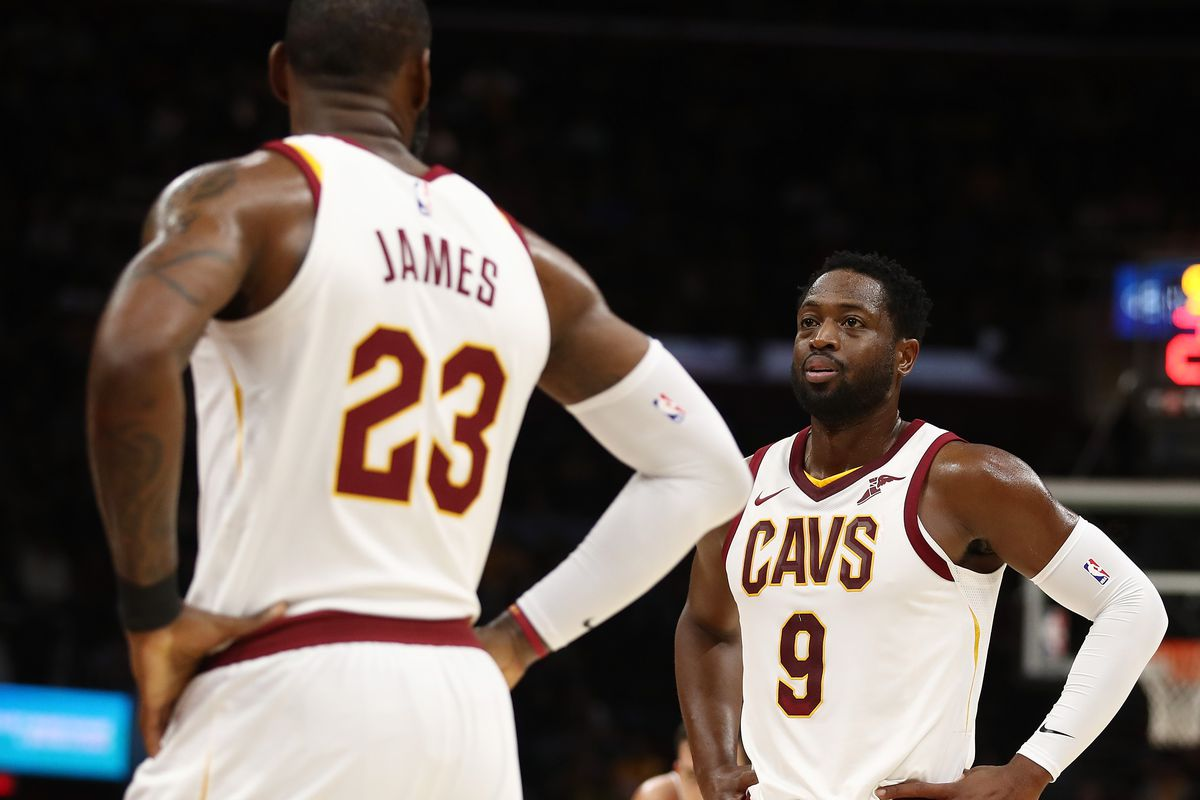 Dwyane Wade to Come off Bench for Cavaliers, JR Smith to Start