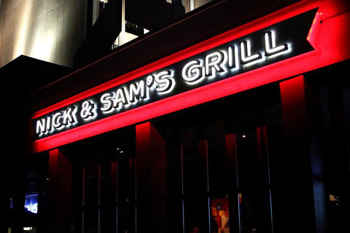"Nick & Sam's Grill Park Cities: very much a ""Bubble"" restaurant, says Mark Vamos."