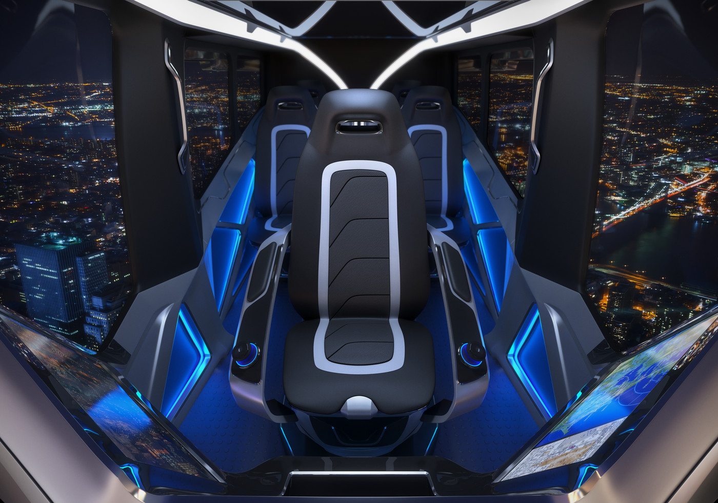 bell's hybrid-electric flying car will be available via uberthe