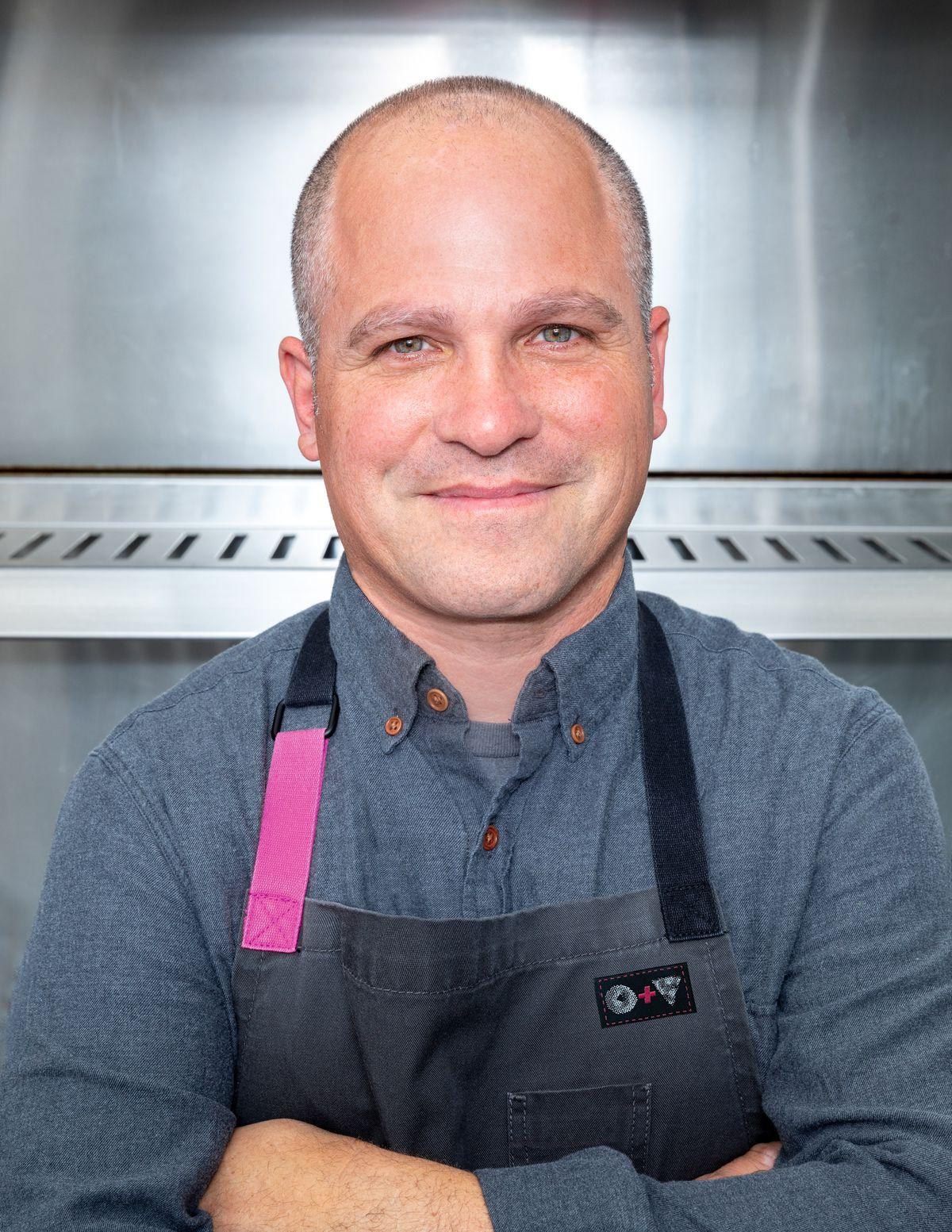 Chef Bradford Kent of Olio, Blaze, and Bagel and Slice.