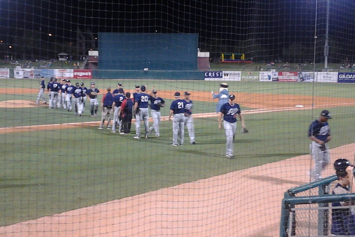 The Aces walk off after beating the Padres in Tucson