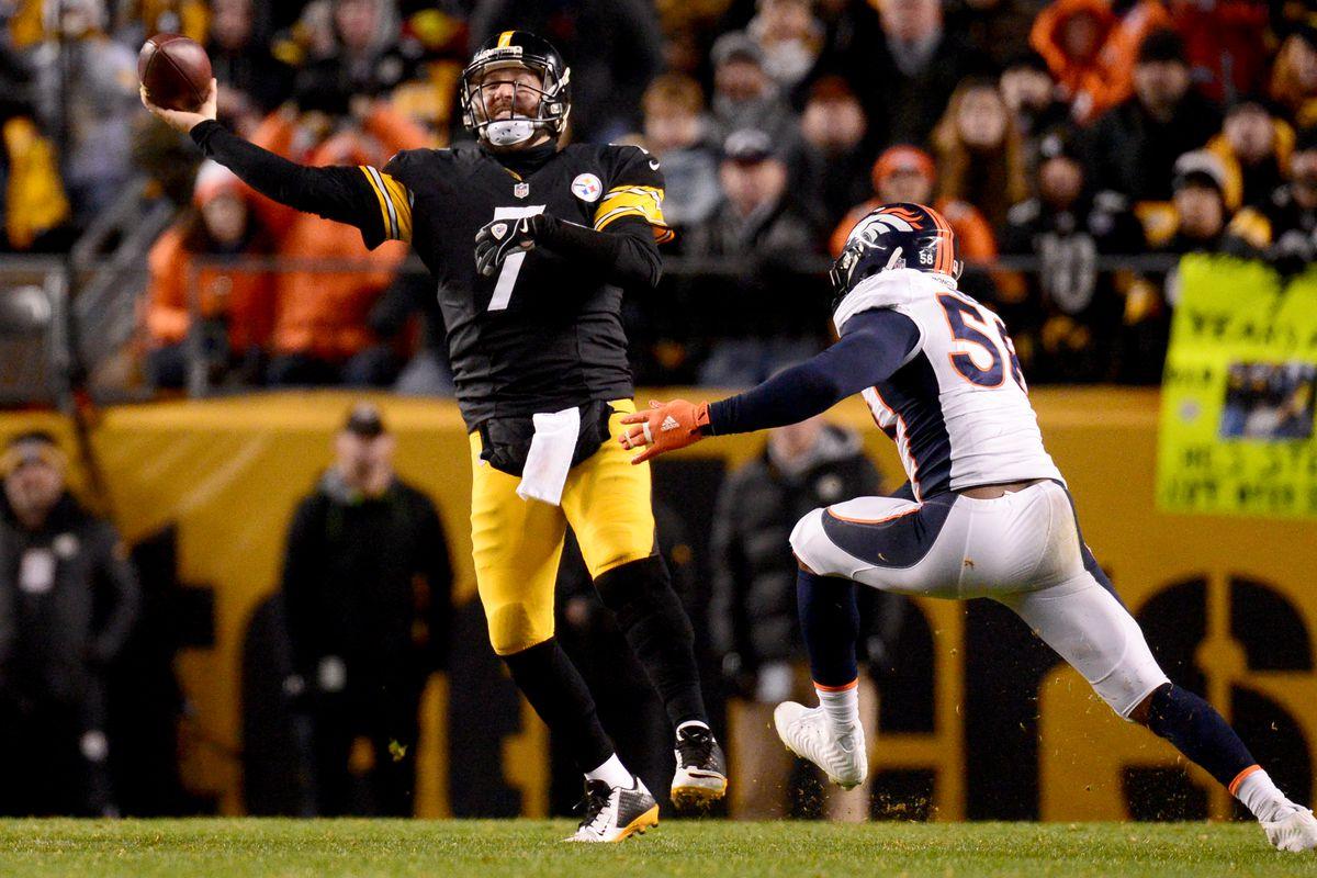 Denver Broncos vs Pittsburgh Steelers, NFL week 15