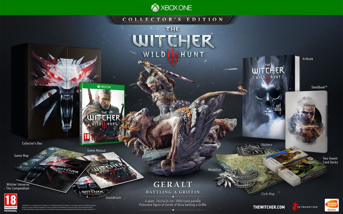 The Witcher 3 Wild Hunt CE