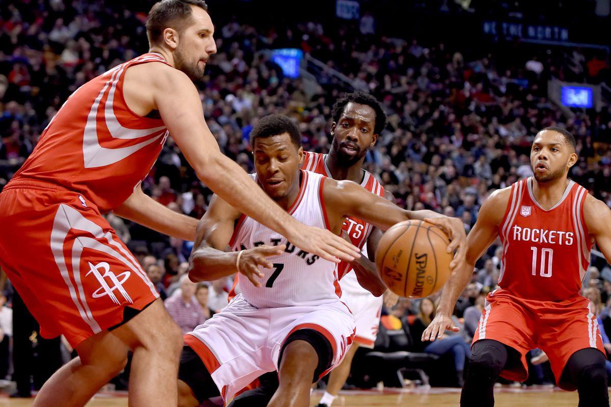 NBA: Houston Rockets at Toronto Raptors
