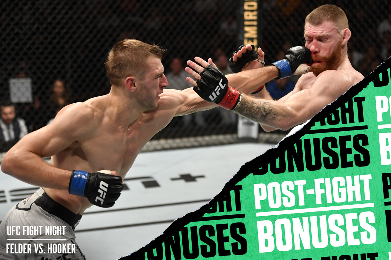 <label><a href='https://idinterior.in/news/13343/UFC-Auckland-postfight-bonuses:-FelderHooker-put-on-FOTN-thriller' class='headline_anchor'>UFC Auckland post-fight bonuses: Felder-Hooker put on FOTN thriller</a></label><br />Check out which fighters won performance bonuses from UFC Fight Night: Felder vs....