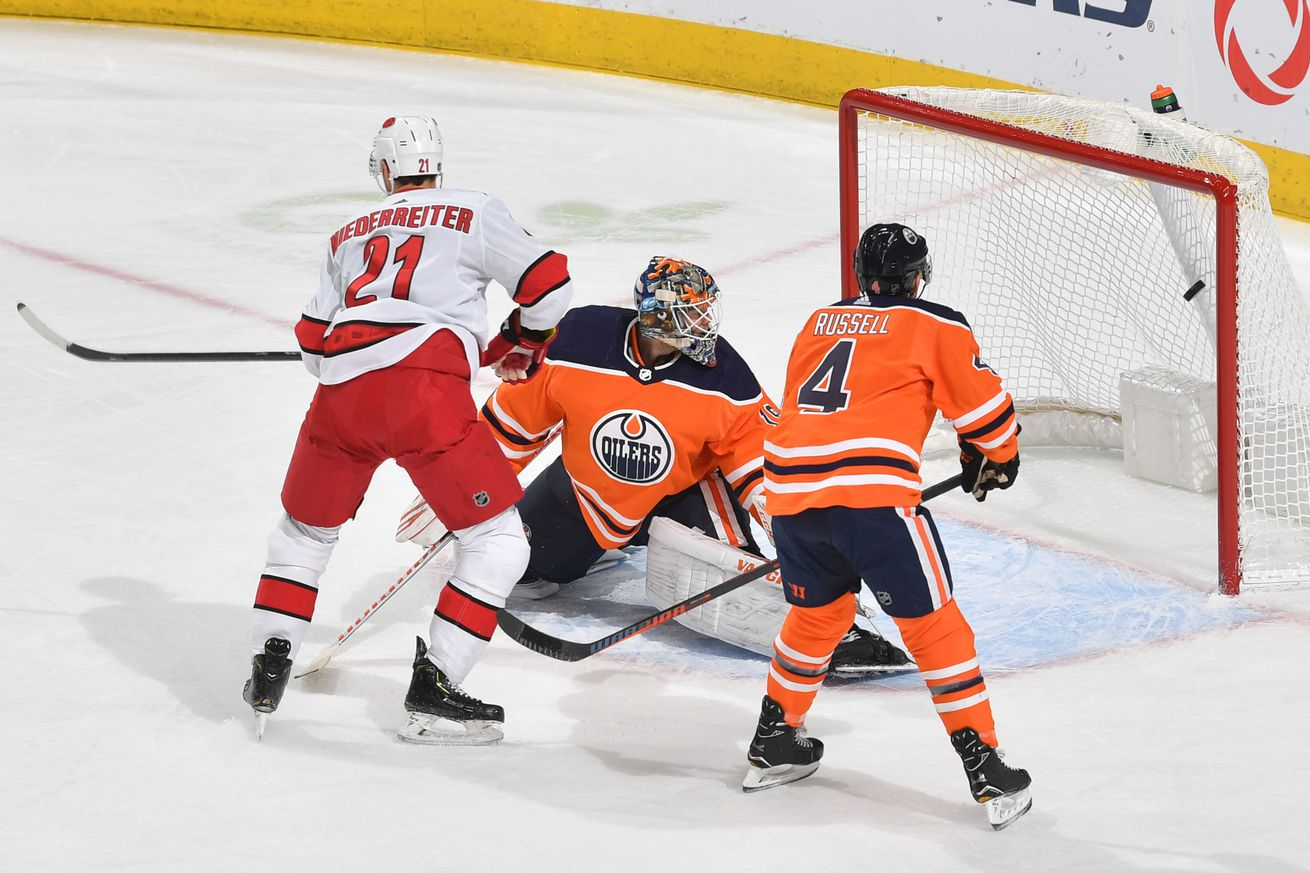 Recap: Aho, Canes double up Oilers