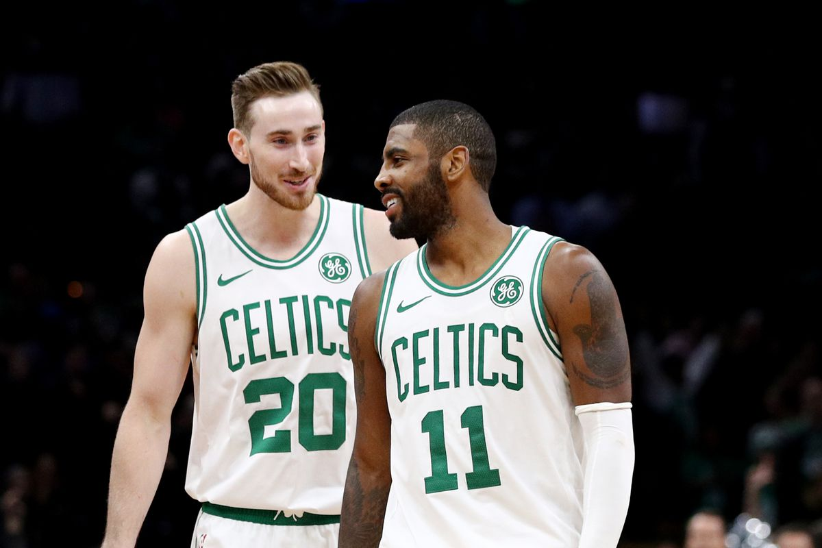 Image result for Gordon Hayward and kyrie irving