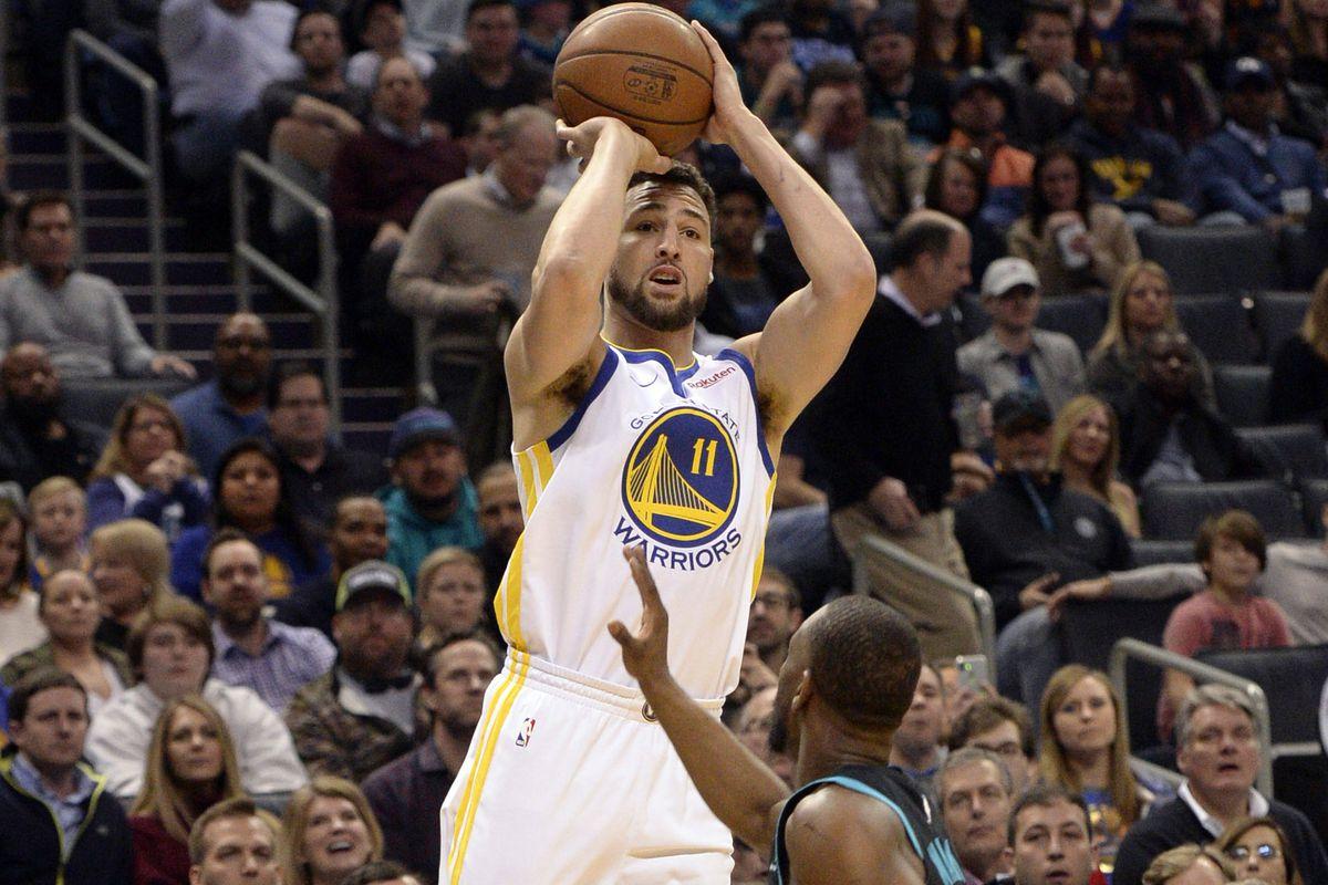 NBA: Golden State Warriors at Charlotte Hornets