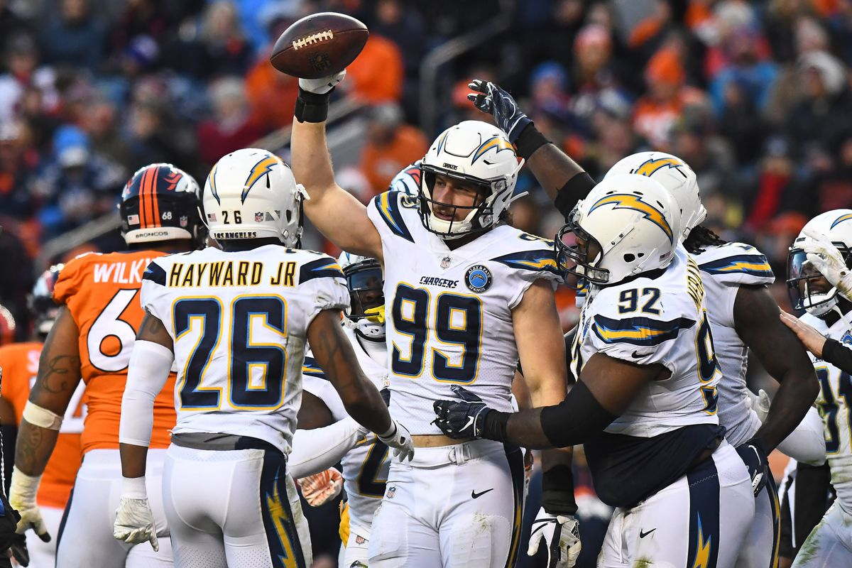 8b7e7349eda Chargers-Broncos final score  Los Angeles Chargers defeat the Denver Broncos  23-9
