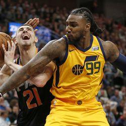 best service 92606 93c3a The meaning behind Jae Crowder's No. 99 Utah Jazz uniform ...