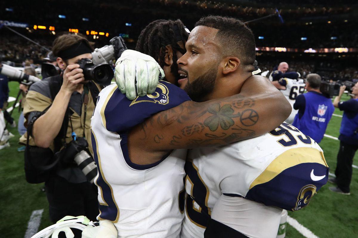 LA Rams NFL Madden 20 ratings
