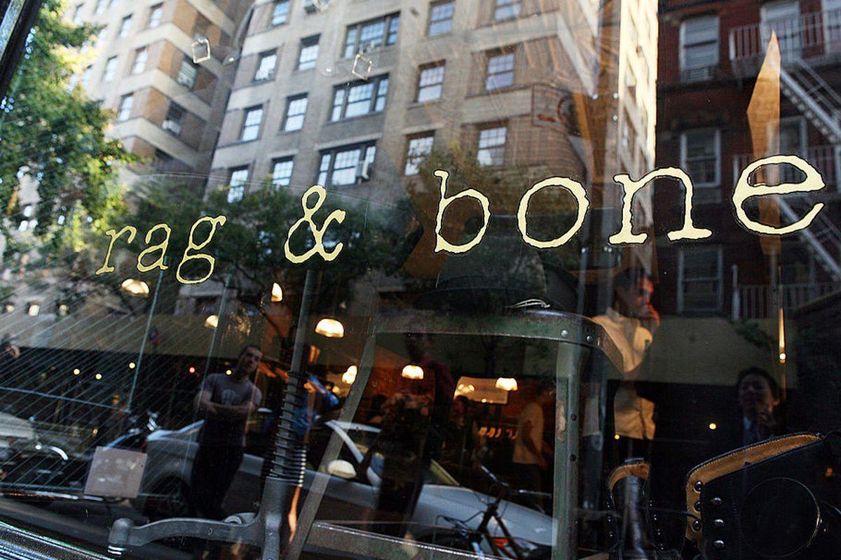 Pics from inside the rag & bone new york sample sale.