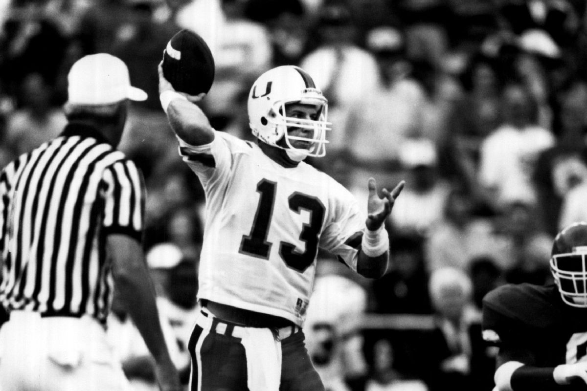 100 Greatest Plays In Miami History: #39-Gino Torretta 99-Yard Touchdown Pass To Horace Copeland 1991 vs Arka…