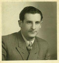 Leon Figa's passport photo.