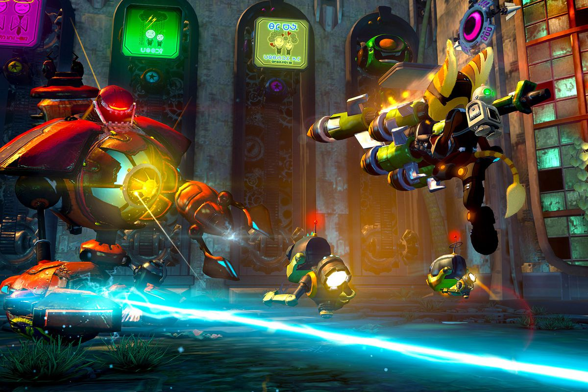 Ratchet & Clank bid PS3 farewell with Into the Nexus, a game