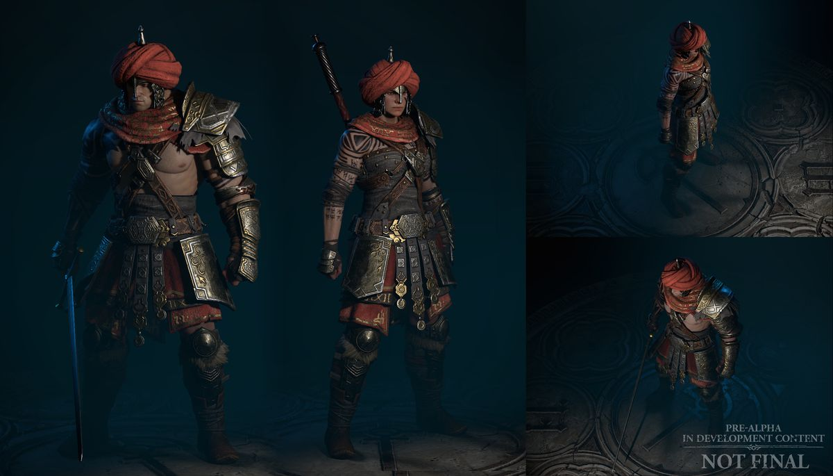 A detailed look at the barbarian class from Diablo 4