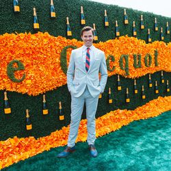 Guests were treated to Broadway and <i>Girls</i> star Andrew Rannells' rendition of the national anthem.