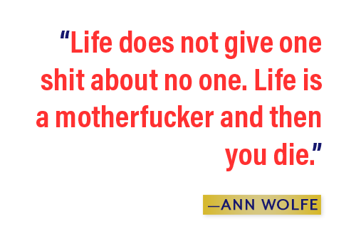 The Wonder of Ann Wolfe - The Ringer