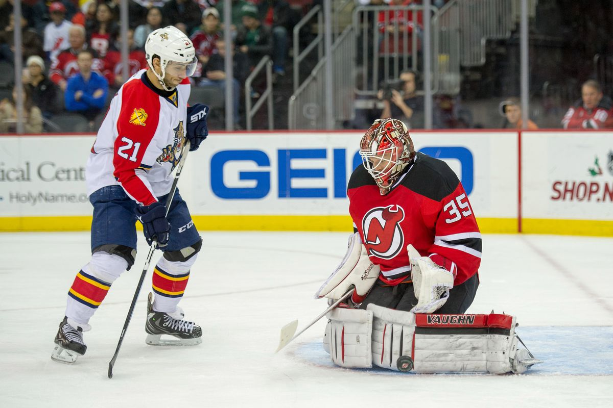Could we see Cory Schneider tonight? Could we see Vincent Trocheck not be this wide open in front of the goalie?