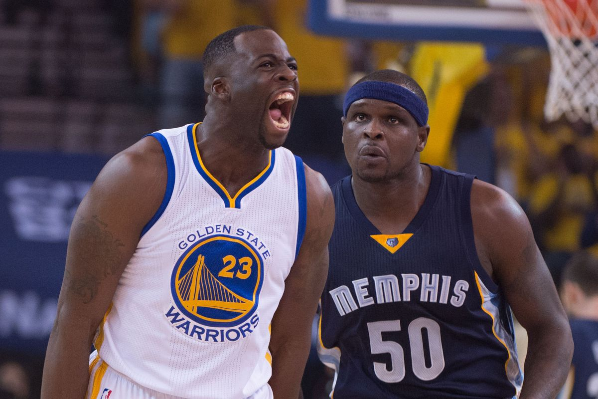 Draymond Green was too much from range in Game One.