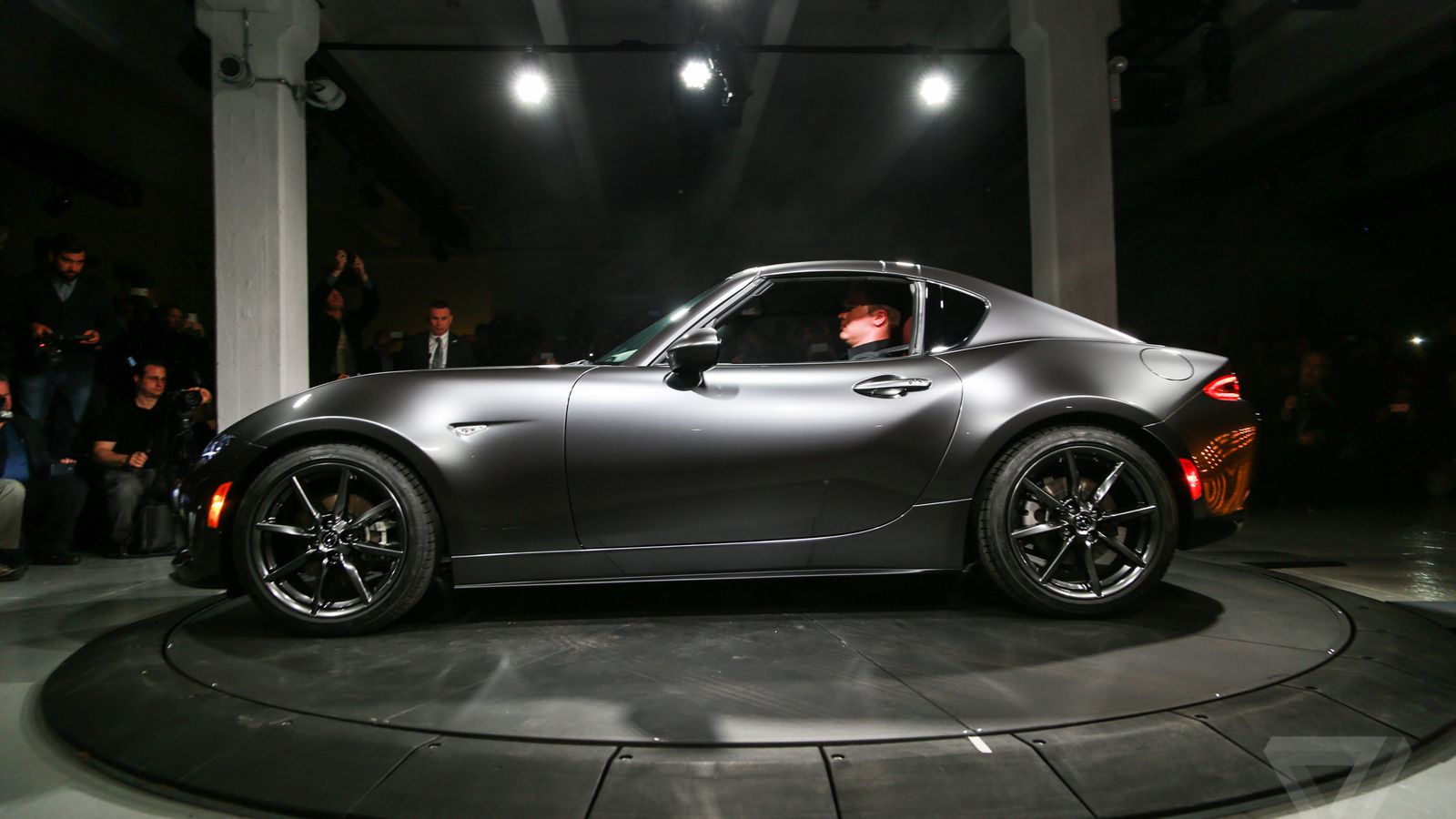 mazda unveils the mx 5 rf a miata with a gorgeous targa. Black Bedroom Furniture Sets. Home Design Ideas