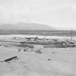 The Salt Lake International Airport under is pictured on May 29, 1959, while under construction.