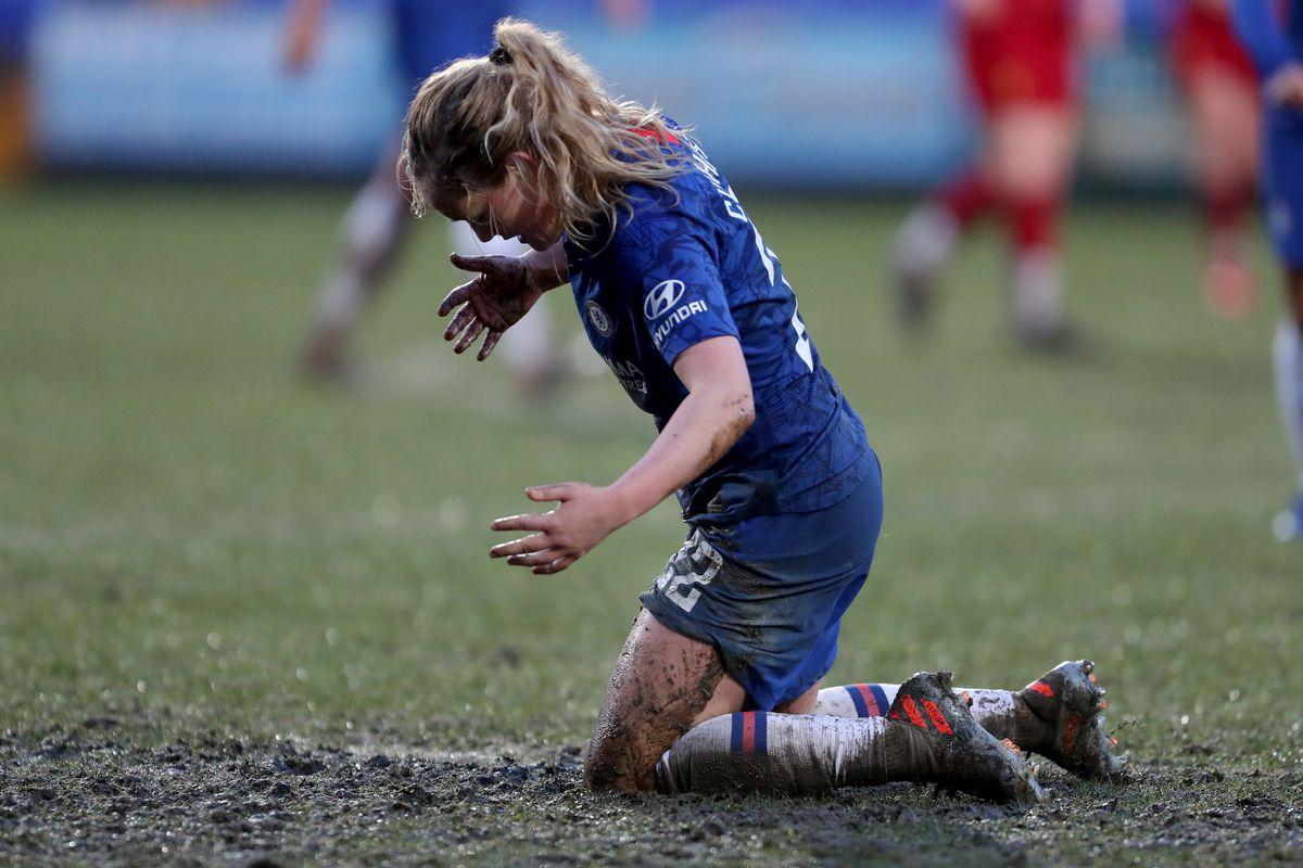 Liverpool v Chelsea - FA Women's Super League - Prenton Park