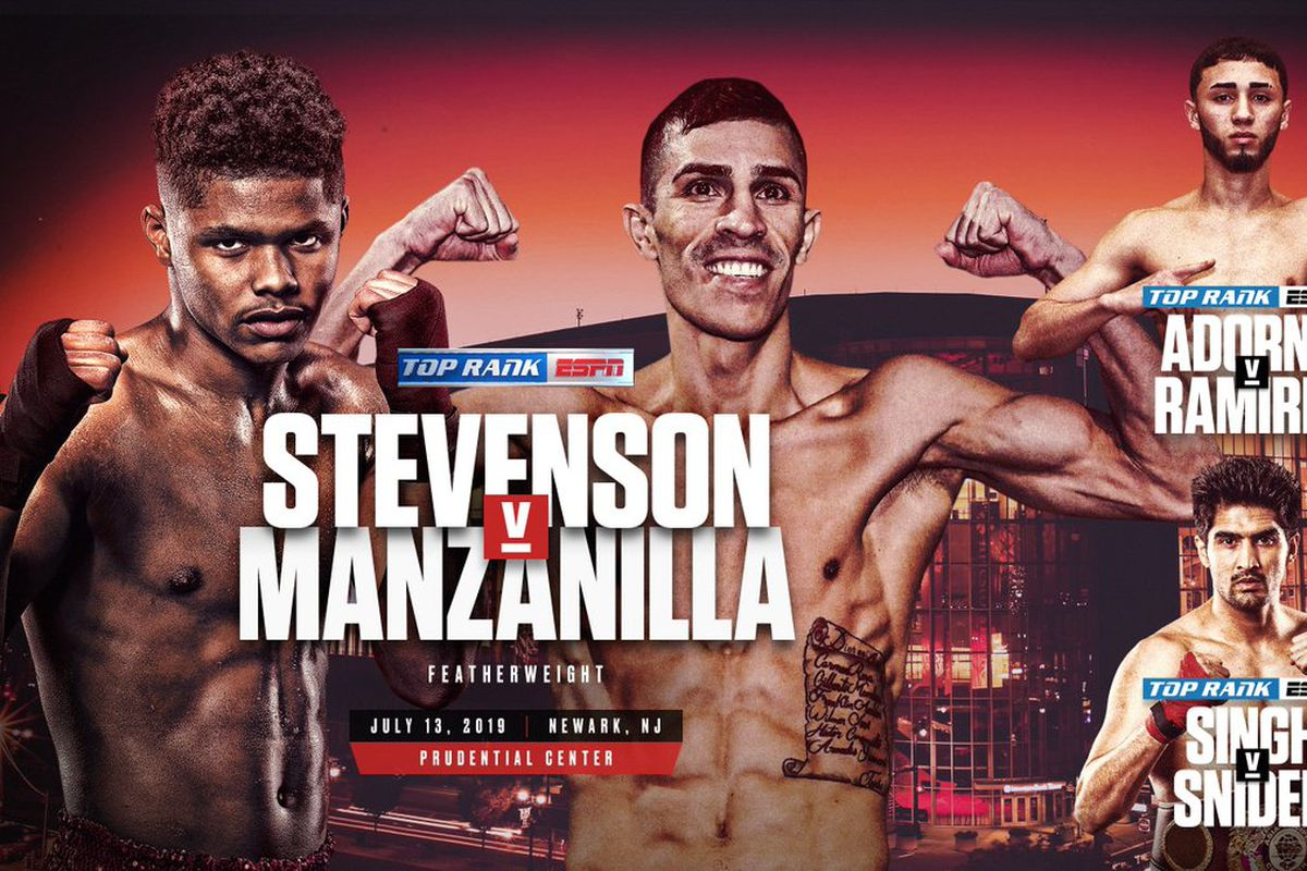 Franklin Manzanilla steps in against Shakur Stevenson on July 13th